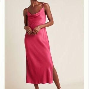 Anthropologie Bias Slip Dress XS